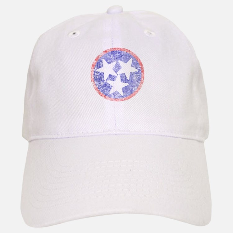 Faded Tennessee American Baseball Baseball Cap