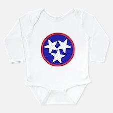 Tennessee American Long Sleeve Infant Bodysuit