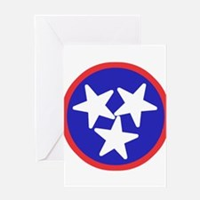 Tennessee American Greeting Card