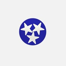 Tennessee American Mini Button