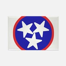 Tennessee American Rectangle Magnet