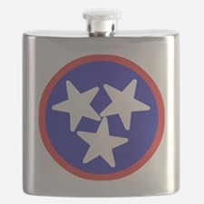 Tennessee American Flask
