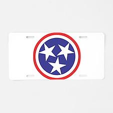 Captain Tennessee Aluminum License Plate