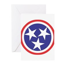 Captain Tennessee Greeting Cards (Pk of 20)