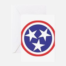 Captain Tennessee Greeting Card