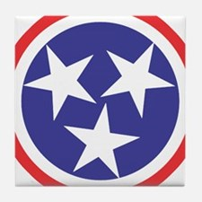 Captain Tennessee Tile Coaster