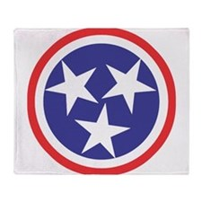 Captain Tennessee Throw Blanket