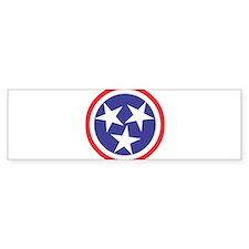 Captain Tennessee Bumper Sticker
