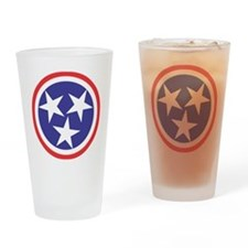 Captain Tennessee Drinking Glass
