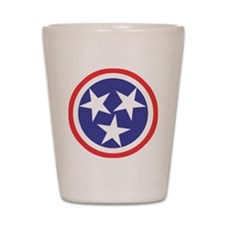 Captain Tennessee Shot Glass