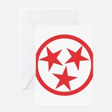 Tennessee Red Greeting Card