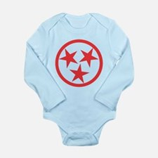Tennessee Red Long Sleeve Infant Bodysuit