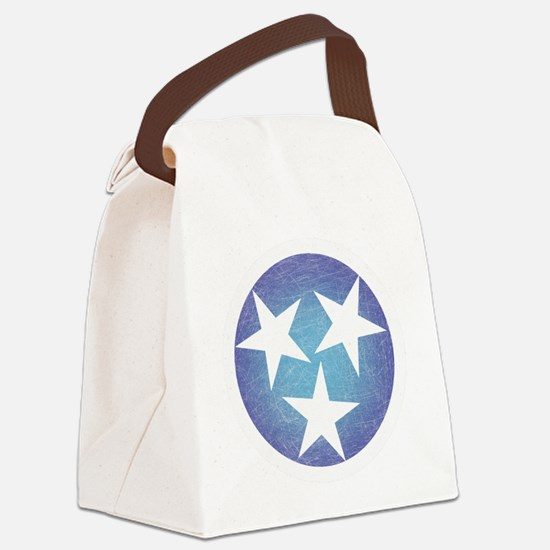 Cool Blue Tennessee Canvas Lunch Bag