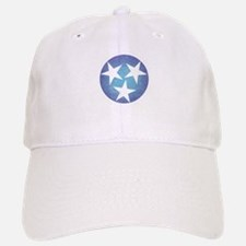 Cool Blue Tennessee Baseball Baseball Baseball Cap