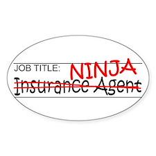 Job Ninja Insurance Decal