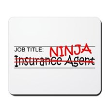 Job Ninja Insurance Mousepad