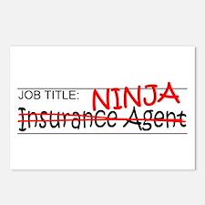 Job Ninja Insurance Postcards (Package of 8)