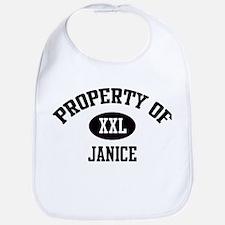 Property of Janice Bib