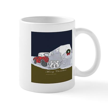 Route 66 Christmas Mug