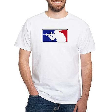 Sniper Girl V-neck Tee T-Shirt