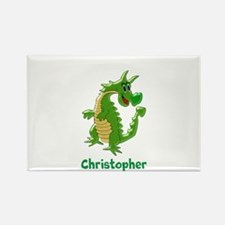 Dragon Just Add Name Rectangle Magnet