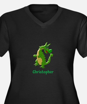 Dragon Just Add Name Plus Size T-Shirt