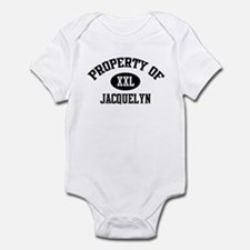 Property of Jacquelyn Onesie