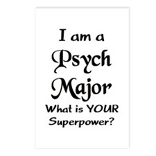 psych major Postcards (Package of 8)