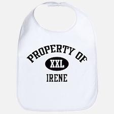 Property of Irene Bib