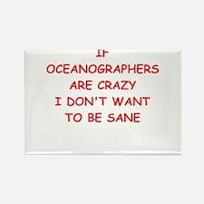 oceanographer Rectangle Magnet (10 pack)