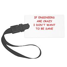 engineering Luggage Tag