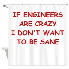 engineering Shower Curtain