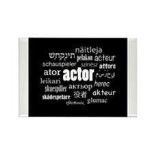 Actor Rectangle Magnet
