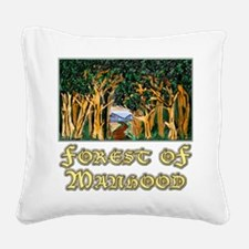 Forest of Manhood Square Canvas Pillow