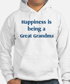 Great Grandma : Happiness Hoodie