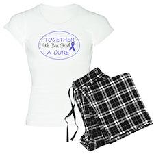 Periwinkle Awareness Ribbon Pajamas