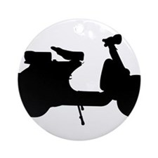scooter10x10.png Ornament (Round)