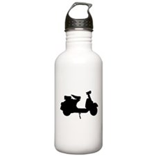 scooter10x10.png Water Bottle