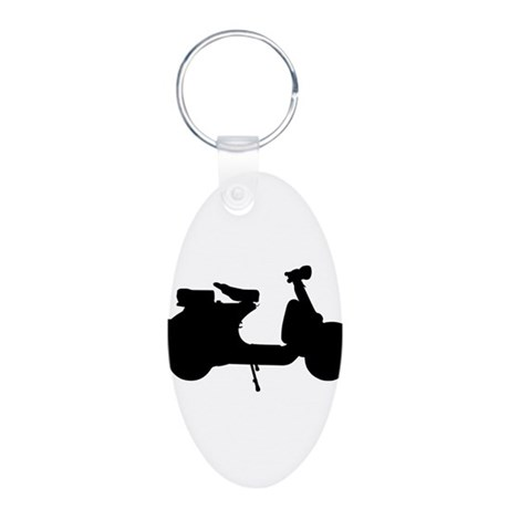 scooter10x10.png Keychains