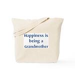 Grandmother : Happiness Tote Bag
