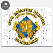 Army - 45th Infantry Division - DUI Puzzle