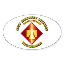 Army - 45th Infantry Division - SSI Decal