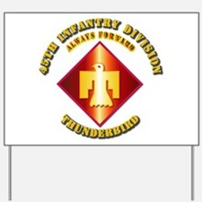 Army - 45th Infantry Division - SSI Yard Sign