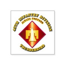 Army - 45th Infantry Division - SSI Square Sticker