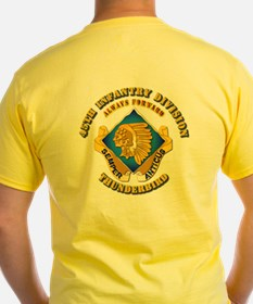 Army - 45th Infantry Division - SSI T