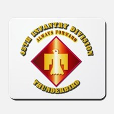 Army - 45th Infantry Division - SSI Mousepad
