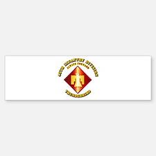 Army - 45th Infantry Division - SSI Bumper Bumper Sticker