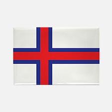 Faroes Flag Rectangle Magnet