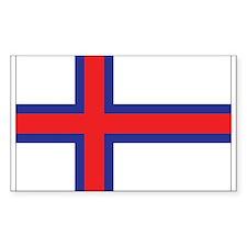 Faroes Flag Decal