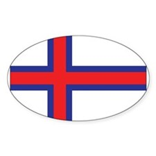 Faroes Flag Decal